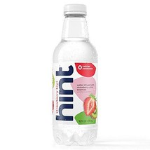 Hint Water Strawberry Kiwi Pack of 12 16 Ounce Bottles Pure Water Infuse... - $23.28