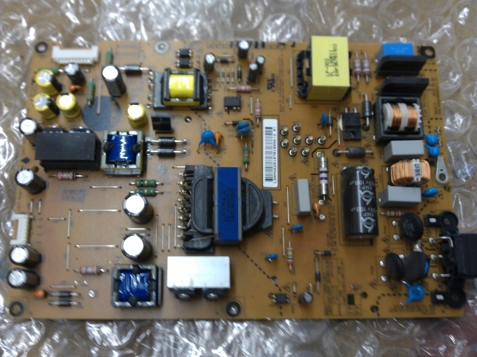 EAY62810701 Power Supply Board From LG 55LA6200-UA BUSULJR LCD TV