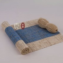 Free Shipping 100% Ramie Hand Woven Table Runner and Placemat New #PR22 - $46.00+