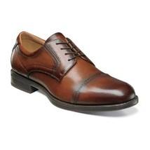 Florsheim shoes Midtown Cap Toe Oxford Cognac Casual Dressy Leather 12138-221  - $115.00
