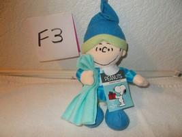 "Linus Peanuts Christmas 8"" Plush Singing ""Oh Christmas Tree "" - $16.99"