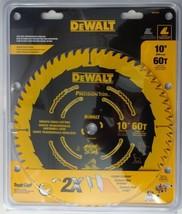 """DEWALT DW3215PT 10"""" x 60 Tooth Precision Trim Carbide Saw Blade - $34.65"""