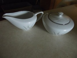 Fine China of Japan Platinum Wheat cream and sugar 1 available - $2.13