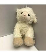 "Build A Bear Lamb Sheep Cream Swirl Pattern Hooves Plush Stuffed Animal 11"" - $39.99"