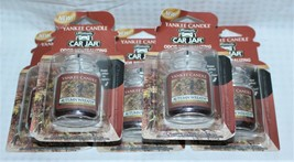 Lot of 5 Yankee Candle Co Autumn Wreath Ultimate Car Jar Air Freshener S... - $23.74