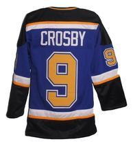 Sidney Crosby Dartmouth Subways Retro Hockey Jersey New Blue Any Size image 2