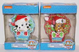 Paw Patrol Christmas Ornament Lot New! - $10.00