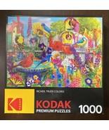 "CraZArt 1000 Pc Kodak Jigsaw Puzzle 8700 ""BIRD BATH GARDEN"" 20x27 - $15.35"
