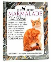 The Little Marmalade Cat Book by David C Taylor ~ ORANGE cats folklore P... - $6.88