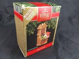 Hallmark Keepsake Ornament SANTA'S HOTLINE 1991 Magic Blinking Lights Ch... - $18.96