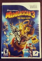 Madagascar 3: The Video Game - Nintendo Wii DreamWorks Animation 2012 NIP - $17.99