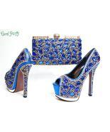 OLAMICH 2018 WOMEN New Fashion Italian Design Shoe Bag Set Party High Qu... - $88.99+