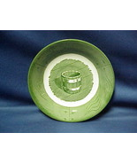 "Green ROYAL China Colonial Homestead Saucer BERRY Bowl 6""  WATER BUCKET - $5.64"