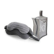Travelling Cushion Head Support Rest at Airplane Bus Train  Eye Mask Nec... - $10.79