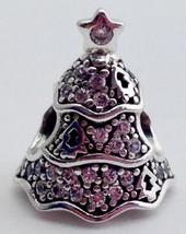 Authentic Pandora Twinkling Tree Christmas Charm Bead Charm 791765CZ,  New - $37.66