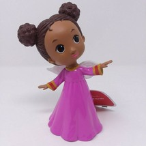 Hallmark Mahogany African American Cute Angel Purple Dress Christmas Wit... - $12.16