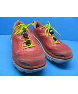 Hoka One One Bondi 3 Athletic Running Walking Shoes Size 9.5 Coral Citru... - $48.02