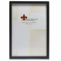 Lawrence Frames Black Wood Picture Frame, Gallery Collection, 8 by 12-Inch - $26.02