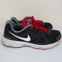 Nike Revolution 2 Men's Size 13 Black White Varsity Red Gray 573751-016 - £22.05 GBP