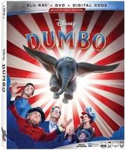 Disney Dumbo [Blu-ray + DVD + Digital]
