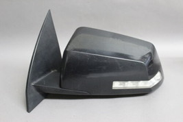 2008-2014 Gmc Acadia Traverse Left Driver Side Power Black Door Mirror Oem - $118.79