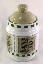 "Himark Savory Tyme Small Tea Canister 4 3/4"" - $9.69"