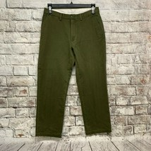 Polo Ralph Lauren Men's 32 x 29 Chino Pants Relaxed Fit Green    (O-21) - $23.09
