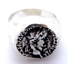 .925 STERLING SILVER JULIUS CAESAR RING - $119.99