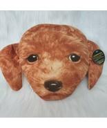Almar Golden Doodle Dog Pillow Plush Keepsake Brown Puppy Stuffed Lovey ... - $14.97