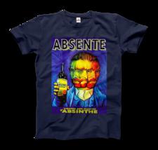 Absente, Vintage Absinthe Liquor Advertisement with Van Gogh T-Shirt - $19.75+