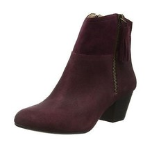 Nine West Womens Hannigan Ankle Boots Red (Chianti) 6 UK - $162.17