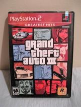 Grand Theft Auto III Greatest Hits (Sony PlayStation 2, 2001) - $7.49