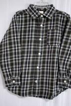 GYMBOREE Boy's Long Sleeve Button Down Flannel Shirt size 6 Yrs - $12.86