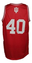 Cody Zeller #40 College Basketball Jersey Sewn Red Any Size image 4