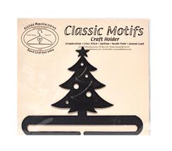 Classico Motivi Albero di Natale 15.2cm Carboncino Spalato Fondo Artigia... - $10.75