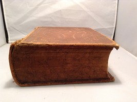 Antique Leather Bound Webster Dictionary  image 2