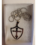 Shield of the Knights Templar Necklace  - $19.99