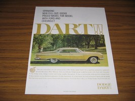 1960 Print Ad The 1961 Dodge Dart 4-Door Car Full Size - $15.08