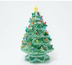 """Mr. Christmas 14"""" Nostalgic Tree with Pearlized Sheen - $28.00"""