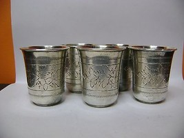 5 Small old vases of russian silver - $642.51