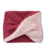 Girls Cable-Knit Faux-Fur Infinity Scarf, Pink Size 4-16 - $14.40