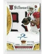 2013 Panini Silhouette Autograph - Jersey #234 - Rookie Stepfan Taylor  ... - $14.01