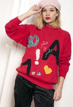 Knit jumper - 90s vintage cotton sweater - $40.06