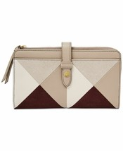 Fossil Fiona Patchwork Tab Wallet (Champagne/Gold) - $39.50