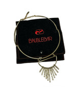 Baublebar NECKLACE 'Sunset Collar' Fringe Chocker Fan Crystal/Gold-Tone ... - $26.18
