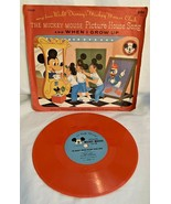 """Mickey Mouse Club Picture House Song """"When I Grow Up"""" record 78 RPM - $9.89"""