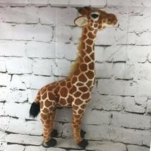 2Ft Giraffe Plush Realistic Lifelike Stuffed Animal Posable Neck Collectible Toy - $29.69