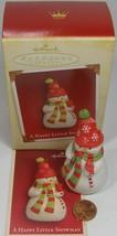 Hallmark Keepsake Ornament A Happy Little Snowman  2005 - $9.99