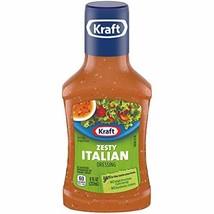 Kraft Zesty Italian Dressing, 8 fl oz Bottle