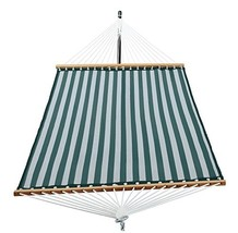Patio Watcher 14 FT Quick Dry Hammock with Double Size Solid Wood Spread... - $63.34